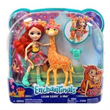 Enchantimals Enchantimals Bebekleri Ve Hayvan Arkadaşları Renkli